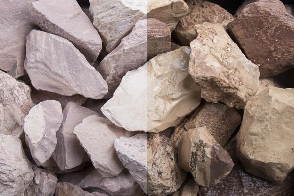 Steinschlag | Savannen Stein | Körnung 32-56 mm
