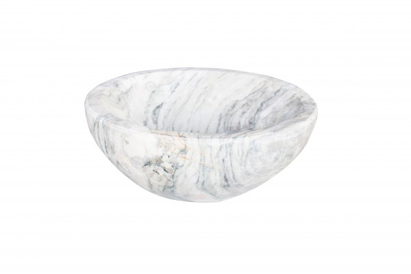 "Fruit bowl ""Obstschale"" 30cm, new wave marble"