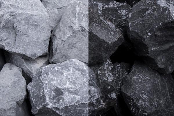 Steinschlag | Basalt Stein | Körnung 30-60 mm