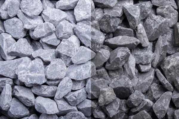 Edelsplitt | Ardennen Splitt grau | Körnung 7-14/14-22 mm