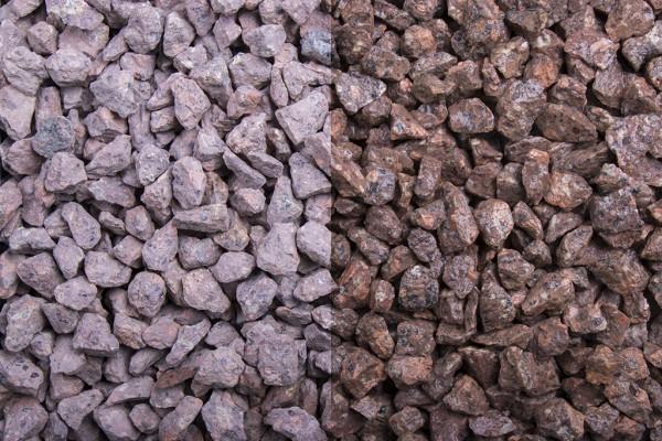 Edelsplitt   Roter Porphyr   Körnung 8-11 mm