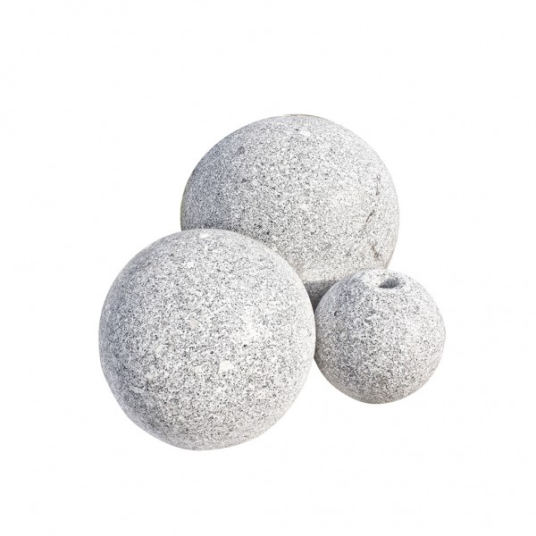 Ball´s Granit 40 cm, gebohrt