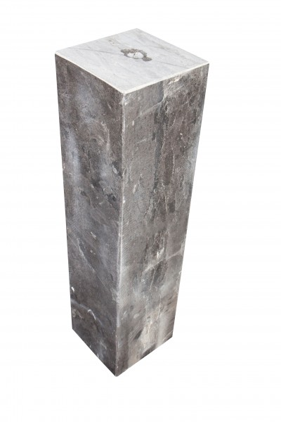 Säulen 25x25x100 cm, gebohrt, black