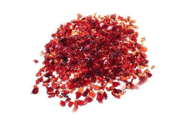 Glassplitt Red   Körnung 5-10 mm