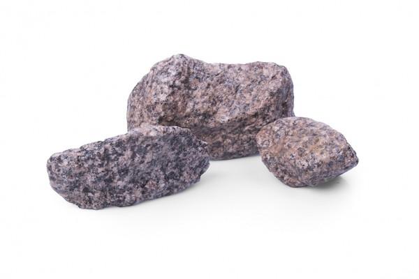Gabionenstein | Granit Rot GS | Körnung 45-125 mm